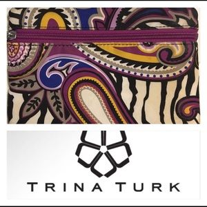 Trina Turk clutch/ makeup pouch